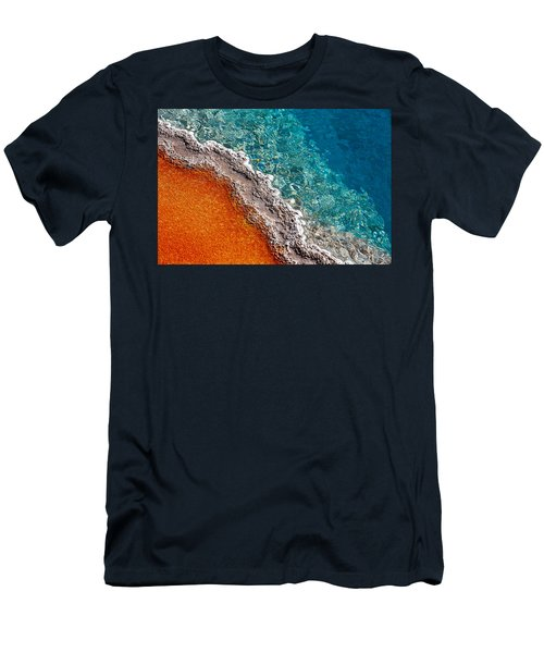 Men's T-Shirt (Athletic Fit) featuring the photograph Geothermic Layers by Todd Klassy