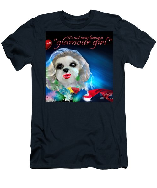 Glamour Girl-3 Men's T-Shirt (Athletic Fit)