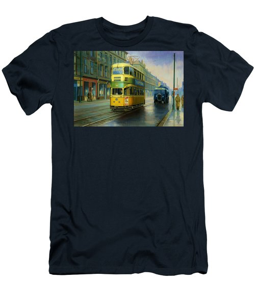 Glasgow Tram. Men's T-Shirt (Athletic Fit)