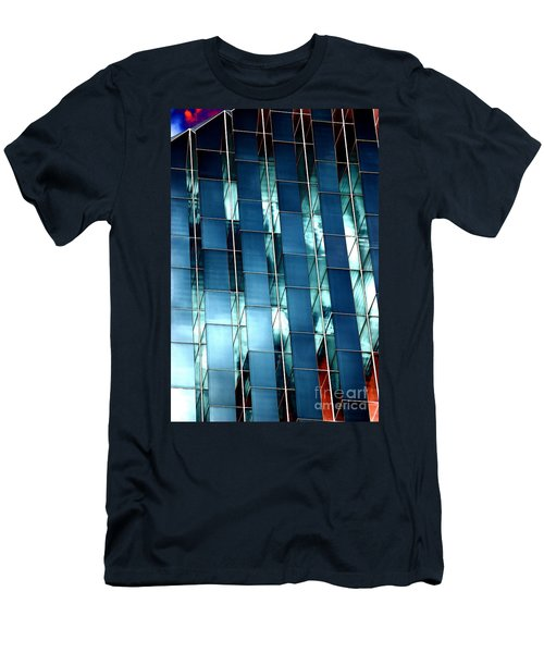 Men's T-Shirt (Slim Fit) featuring the photograph Glass House II by Christiane Hellner-OBrien