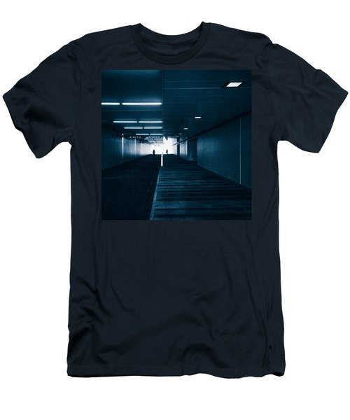 Gloomy Blue Men's T-Shirt (Athletic Fit)
