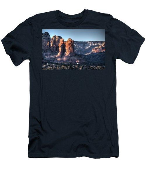 Men's T-Shirt (Slim Fit) featuring the photograph Golden Buttes by Lynn Geoffroy