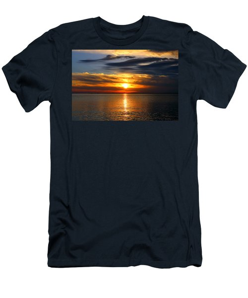 Golden Sun Men's T-Shirt (Athletic Fit)