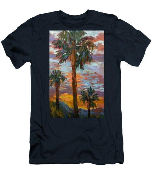 Golden Sunrise Men's T-Shirt (Athletic Fit)