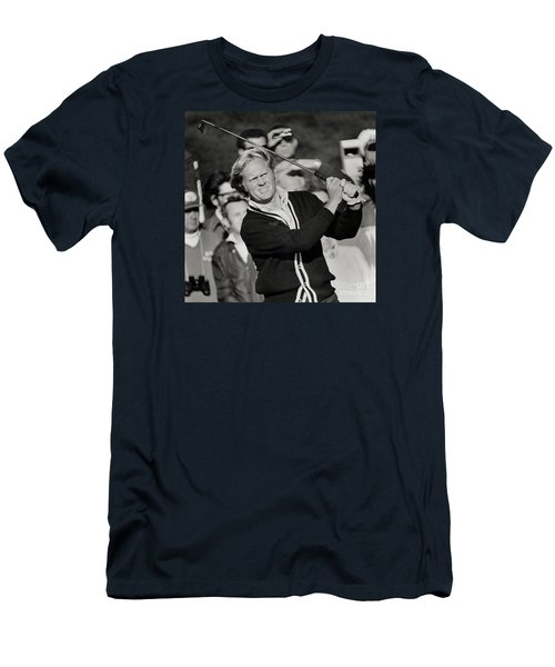 Golfer Jack William Nicklaus Born January 21 1940 Nicknamed The Golden Bear Men's T-Shirt (Athletic Fit)