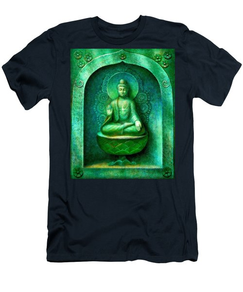 Green Buddha Men's T-Shirt (Athletic Fit)