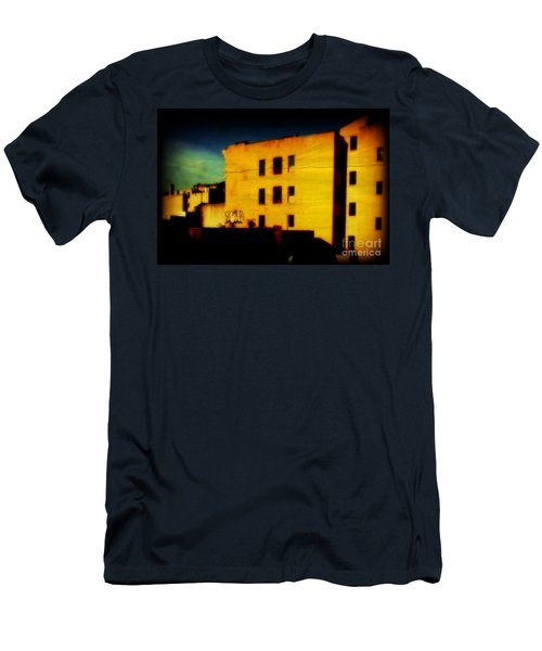 Men's T-Shirt (Slim Fit) featuring the photograph Green Sky by Miriam Danar