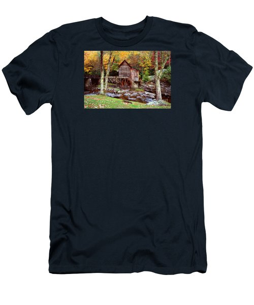 Grist Mill In Babcock St. Park Men's T-Shirt (Athletic Fit)
