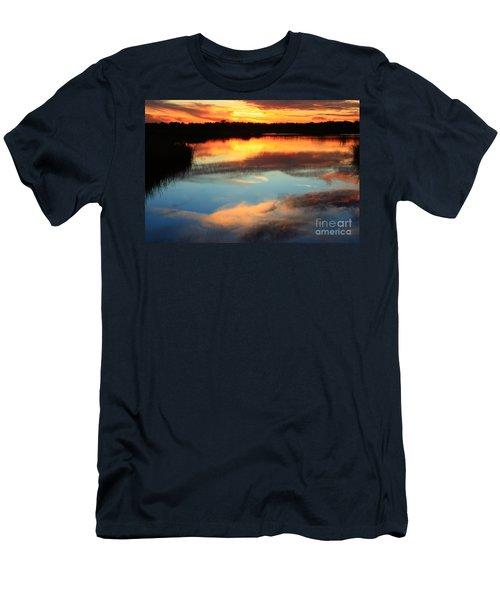 Guana River Sunset Men's T-Shirt (Athletic Fit)