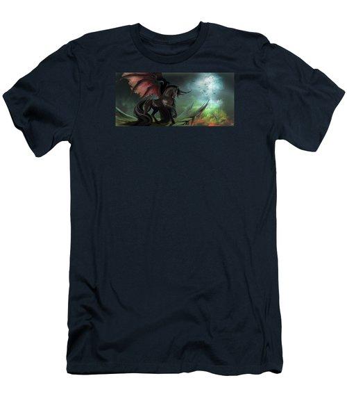 Guardians Men's T-Shirt (Slim Fit) by Kate Black