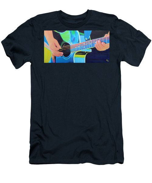 Guitar Man Men's T-Shirt (Athletic Fit)