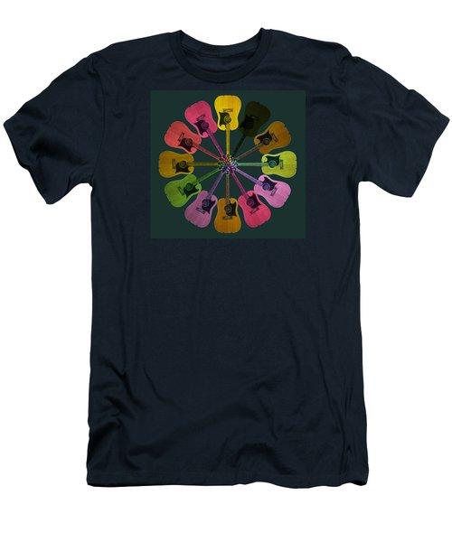 Guitar O Clock Men's T-Shirt (Athletic Fit)