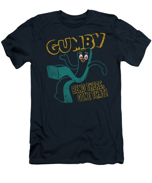 Gumby - Bend There Men's T-Shirt (Athletic Fit)