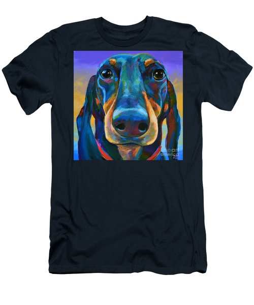 Men's T-Shirt (Slim Fit) featuring the painting Gus by Robert Phelps