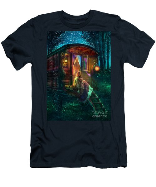 Gypsy Firefly Men's T-Shirt (Athletic Fit)