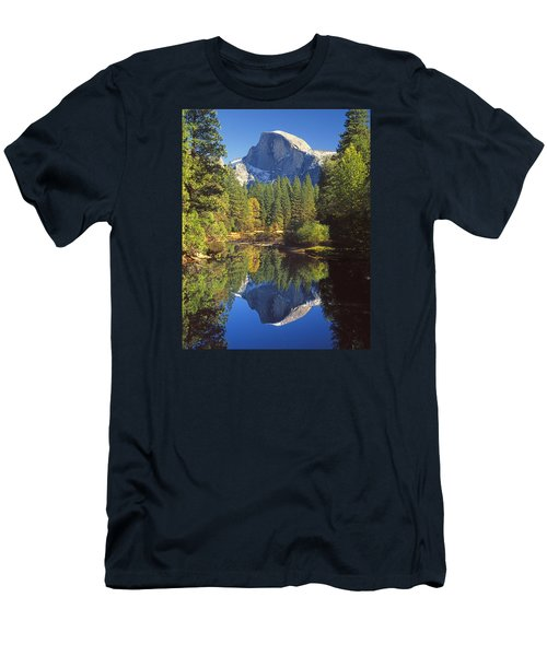 2m6709-half Dome Reflect - V Men's T-Shirt (Athletic Fit)