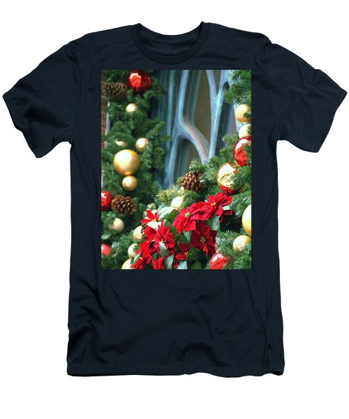 Happy Chirstmas Men's T-Shirt (Athletic Fit)