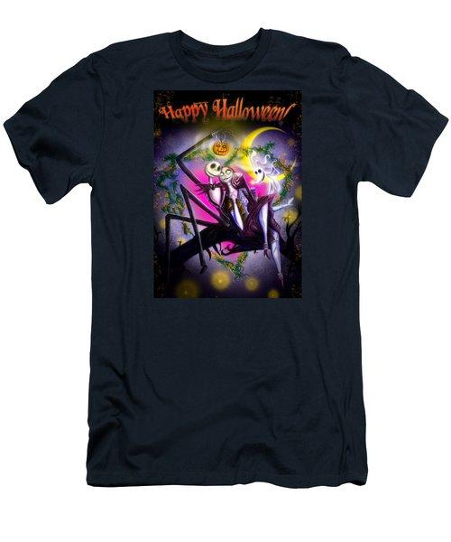 Happy Halloween II Men's T-Shirt (Athletic Fit)
