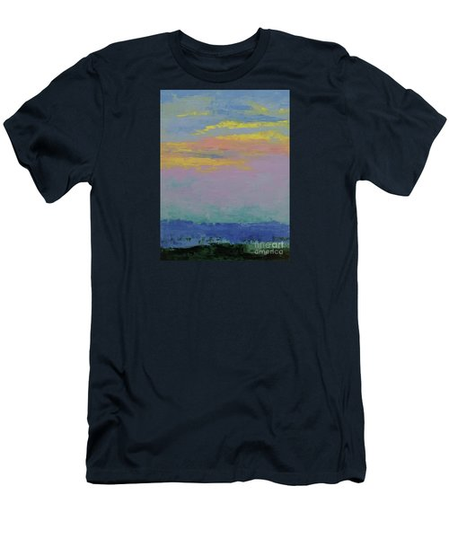 Harbor Sunset Men's T-Shirt (Athletic Fit)