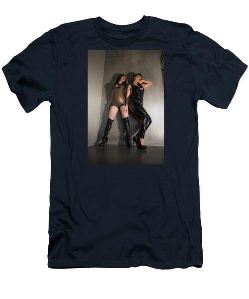 Men's T-Shirt (Slim Fit) featuring the photograph Hard And Soft by Mez