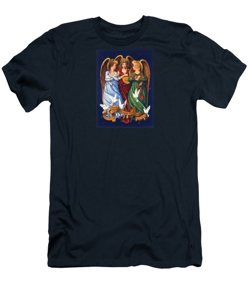 Hark The Herald Angels Sing Men's T-Shirt (Athletic Fit)