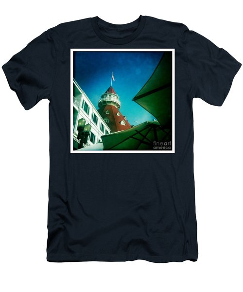 Haunted Hotel Del Men's T-Shirt (Athletic Fit)
