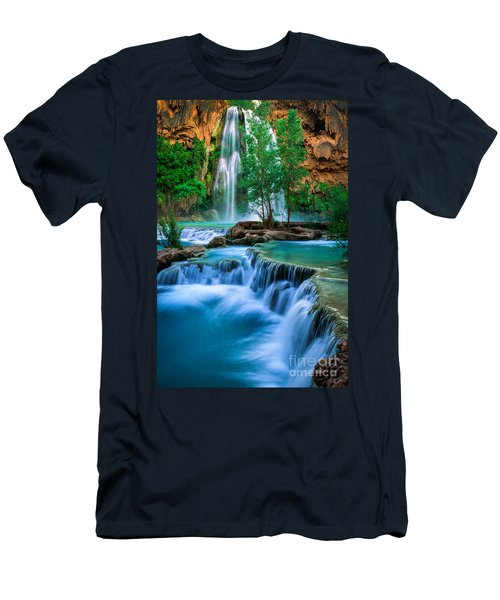 Havasu Paradise Men's T-Shirt (Slim Fit) by Inge Johnsson