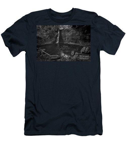 Hayden Swirls  Men's T-Shirt (Slim Fit) by James Dean