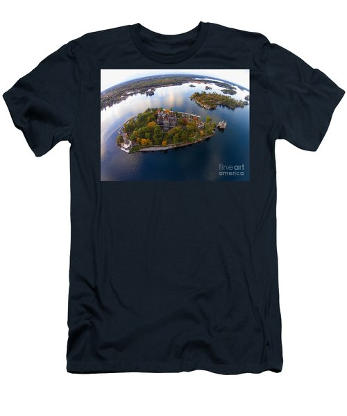Heart Island George Boldt Castle Men's T-Shirt (Athletic Fit)