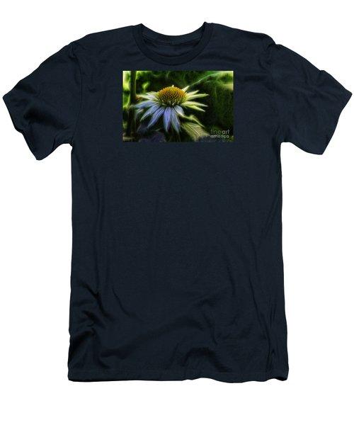 Heart Treasure Men's T-Shirt (Slim Fit) by Jean OKeeffe Macro Abundance Art