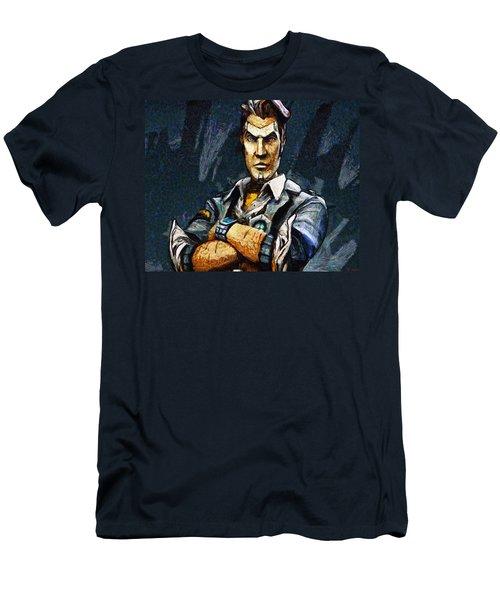 Hey Vault Hunter Handsome Jack Here Men's T-Shirt (Athletic Fit)