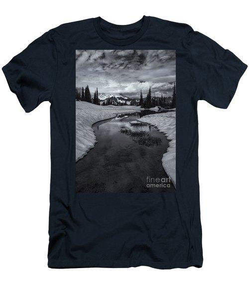 Hidden Beneath The Clouds Men's T-Shirt (Athletic Fit)