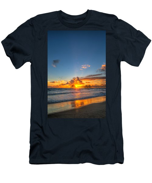 Hiding Sunset Men's T-Shirt (Athletic Fit)