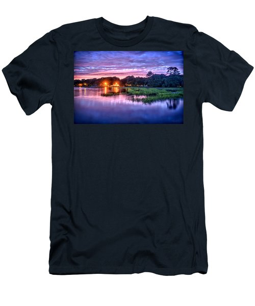Hilton Head Evening Marsh Men's T-Shirt (Athletic Fit)