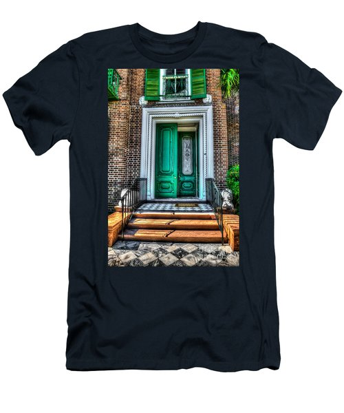 Historic Charleston Sc Door Men's T-Shirt (Athletic Fit)