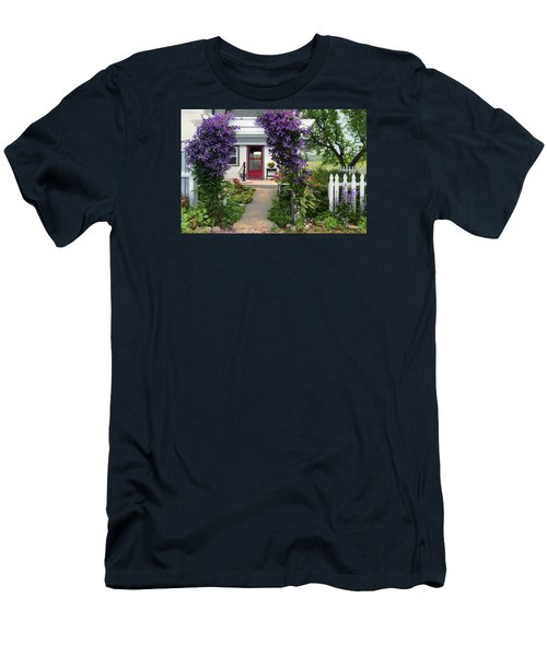 Home Men's T-Shirt (Slim Fit) by Bruce Morrison