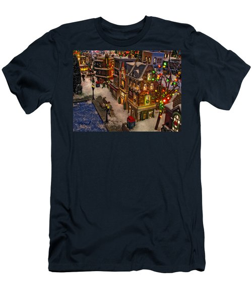 Men's T-Shirt (Slim Fit) featuring the photograph Home For The Holidays by GJ Blackman