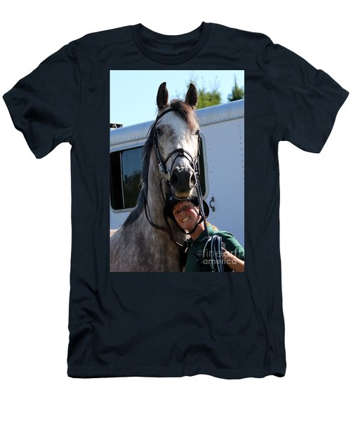 Horsin' Around Men's T-Shirt (Athletic Fit)