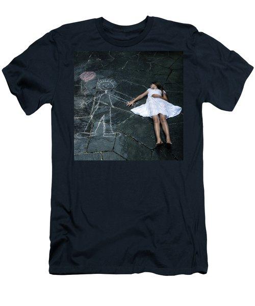 Imaginary Friend Men's T-Shirt (Athletic Fit)