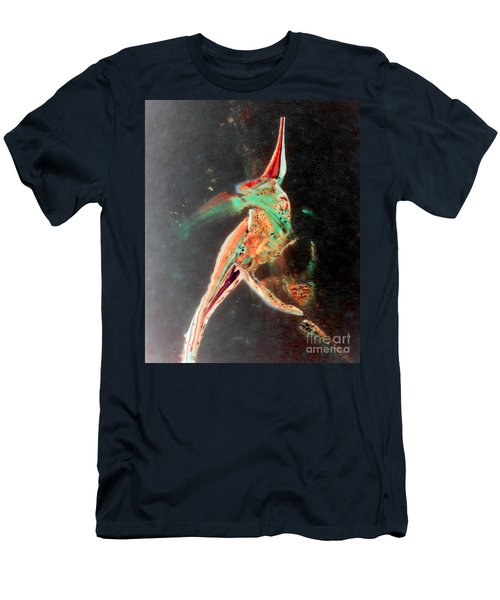 Men's T-Shirt (Slim Fit) featuring the painting In Jest by Jacqueline McReynolds