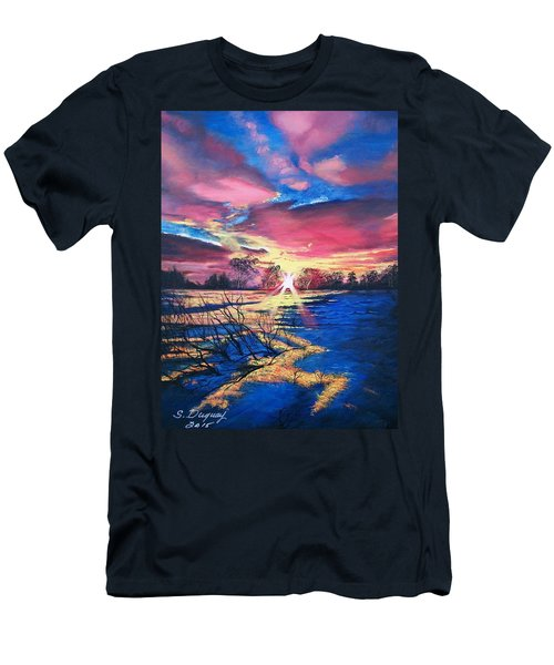 In The Still Of Dawn  Men's T-Shirt (Athletic Fit)