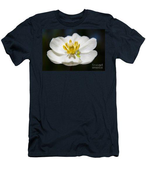 Inchworm  Men's T-Shirt (Slim Fit) by Jeannette Hunt