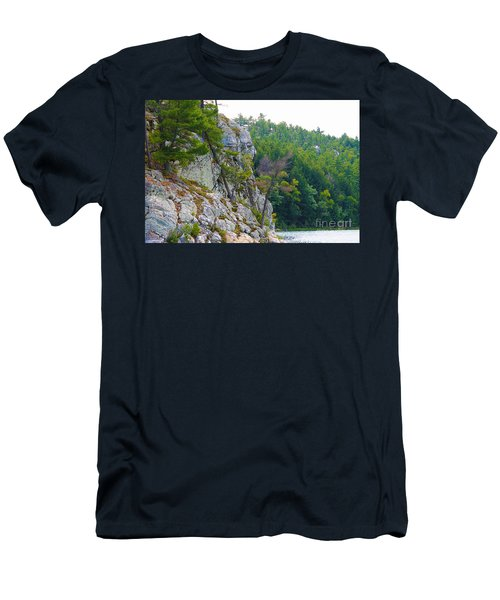 Indian Head In Killarney Men's T-Shirt (Athletic Fit)