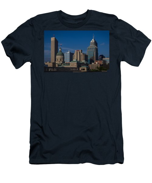 Indianapolis Skyscrapers Men's T-Shirt (Athletic Fit)