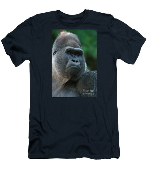 Men's T-Shirt (Slim Fit) featuring the photograph Indifference by Judy Whitton