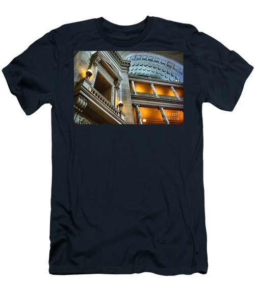 Inside The Natural History Museum  Men's T-Shirt (Slim Fit) by John S
