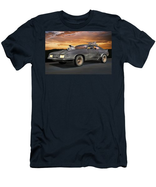 Interceptor II Men's T-Shirt (Slim Fit) by Stuart Swartz