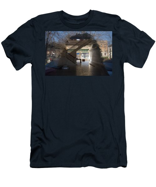 Interior Reflection Men's T-Shirt (Slim Fit) by Melinda Fawver