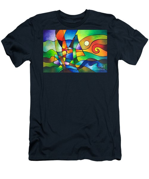 Into The Wind Men's T-Shirt (Athletic Fit)