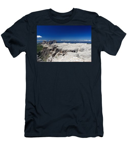 Italian Dolomites - Sella Group Men's T-Shirt (Athletic Fit)